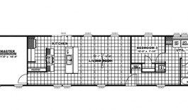 Floor plan 1280sf